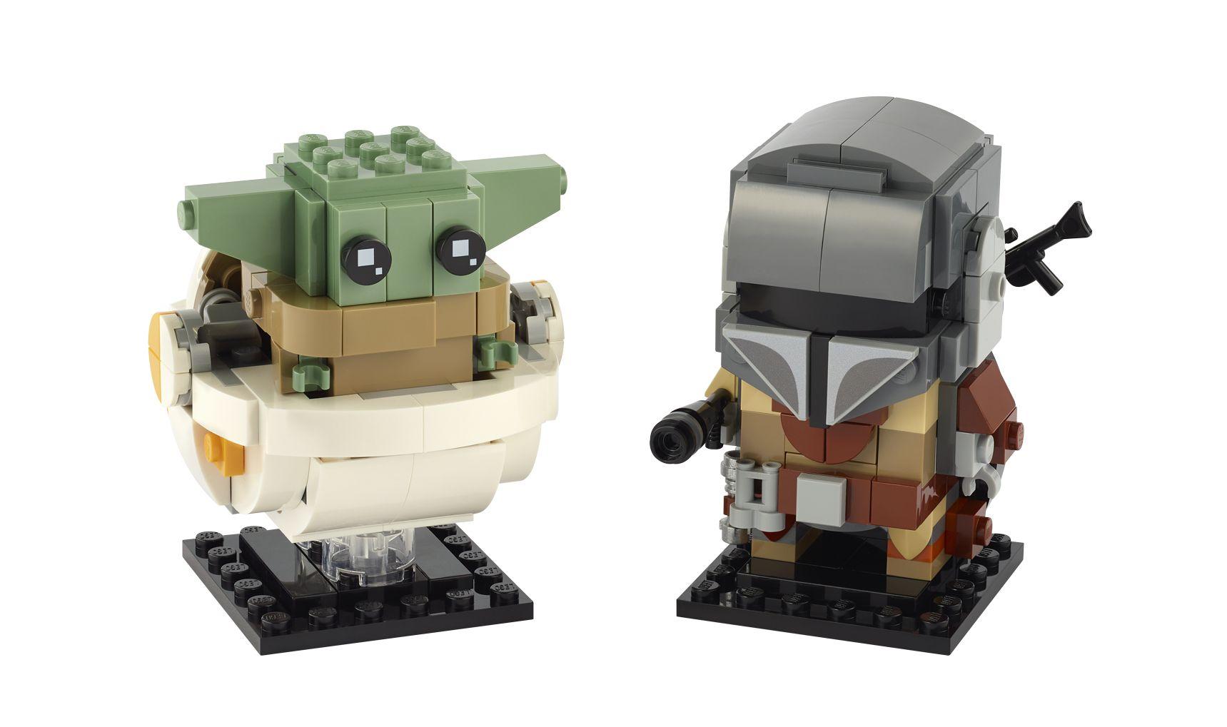 Baby Yoda Star Wars Mini figure This Is The Way UK Stock For Lego Mandalorian