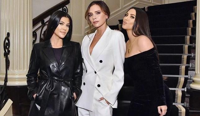 Victoria Beckham and Kim Kardashian