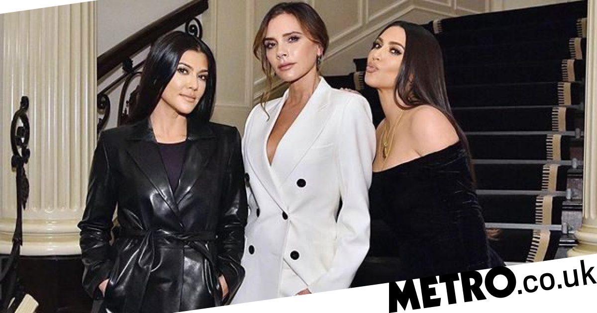 Victoria Beckham lavishes Kim Kardashian with gifts and we're pretty jealous