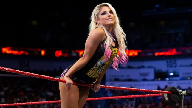 WWE superstar Alexa Bliss makes an