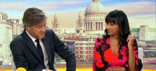 Richard Madeley and Ranvir Singh
