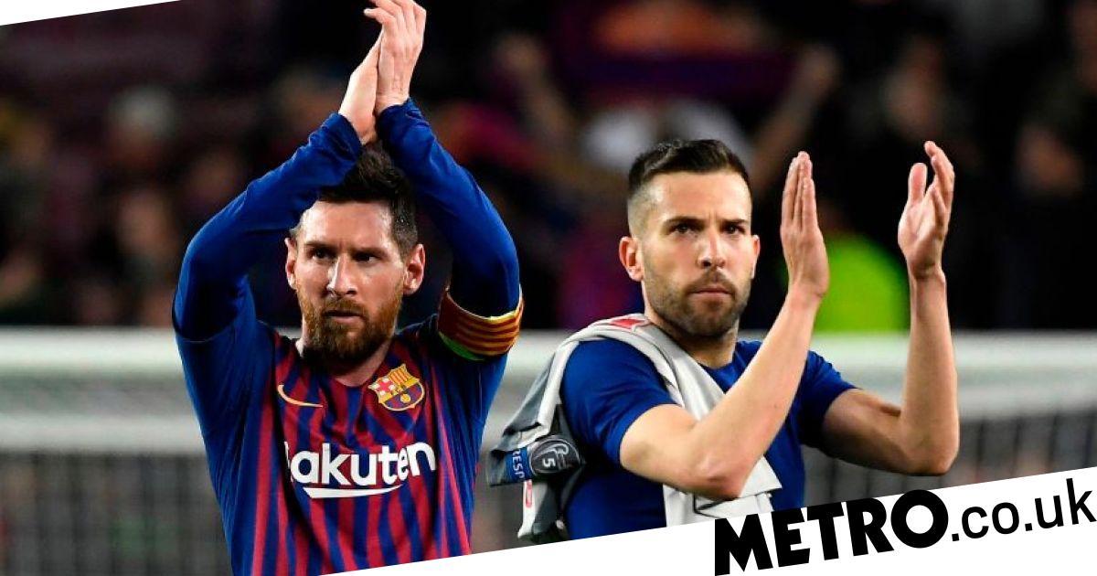 Barcelona's Jordi Alba joins Lionel Messi in slamming Eric Abidal - Metro.co.uk