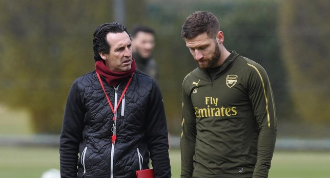 Unai Emery failed to get the best out of Shkodran Mustafi at Arsenal