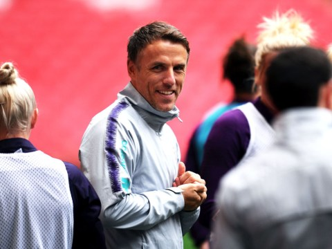 Phil Neville to stand down as England manager next summer