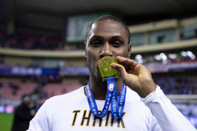 Manchester United signed Odion Ighalo on a season-long loan