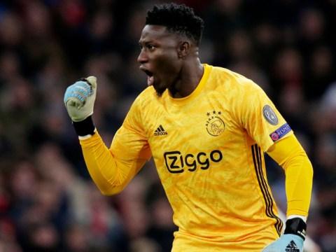 Ajax goalkeeper Andre Onana favours Chelsea transfer move