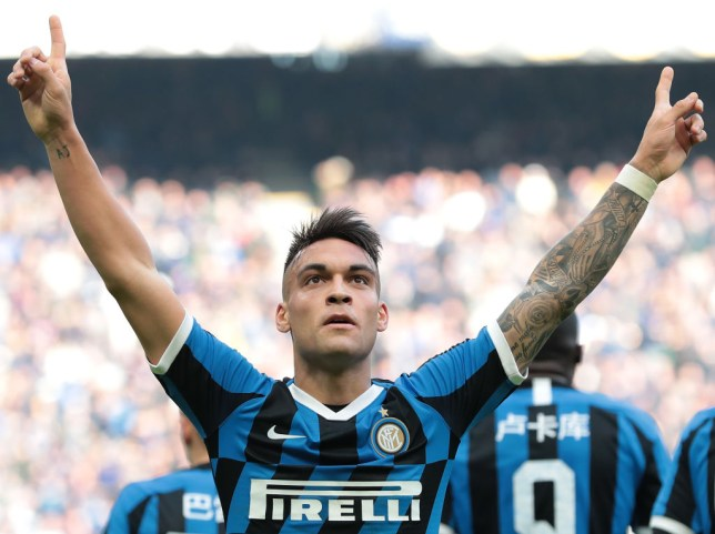 Lautaro Martinez has bagged 16 goals in all competitions for Inter Milan this campaign (Getty Images)