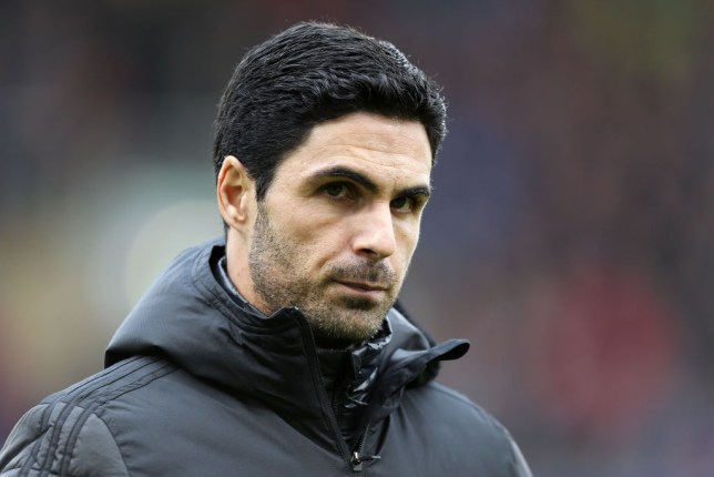 Mikel Arteta is pictured during a game for Arsenal