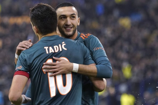 Hakim Ziyech is close to being confirmed as Frank Lampard's first Chelsea signing