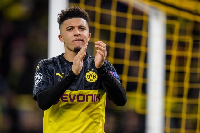 Jadon Sancho is keen on a return to the Premier League (