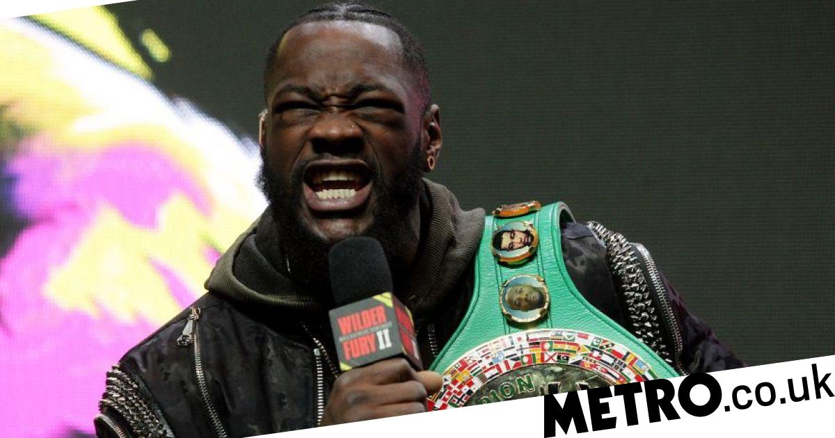 Deontay Wilder sends warning to Tyson Fury in reaction to face-off ban