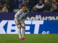 Eden Hazard limps off injured ahead of Real Madrid's Champions League tie v Man City