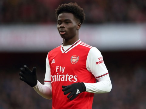 Gary Neville blown away by Arsenal star Bukayo Saka during Everton win