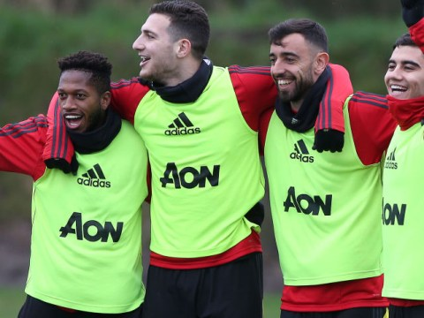 Bruno Fernandes and Odion Ighalo make great first impression on Man Utd squad
