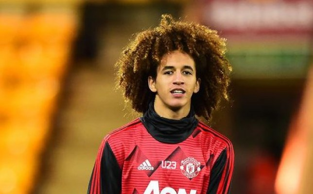 Hannibal Mejbri had been tipped to make his first-team debut for Manchester United this season