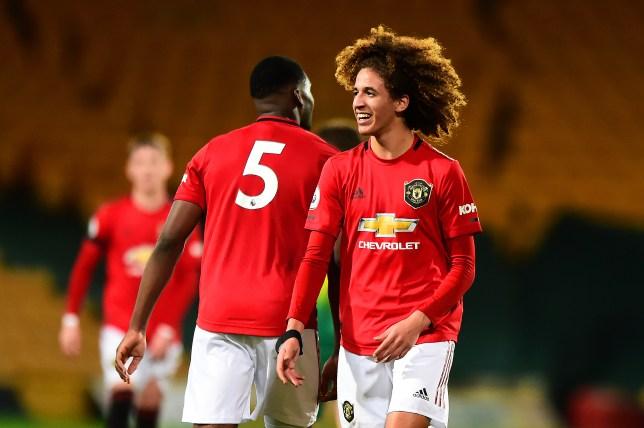 Manchester United youth star Hannibal Mejbri