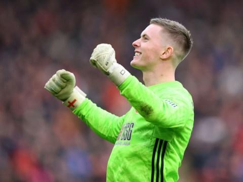 Chelsea eye move for Manchester United goalkeeper Dean Henderson