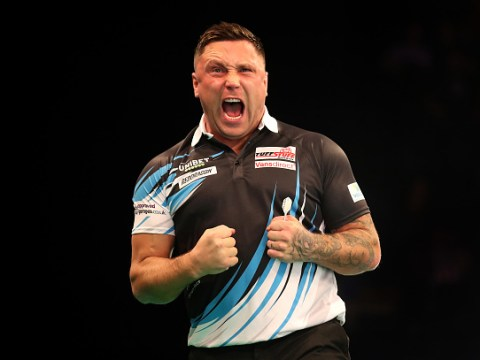 Gerwyn Price relieved after thrashing Peter Wright to get Premier League darts campaign up and running