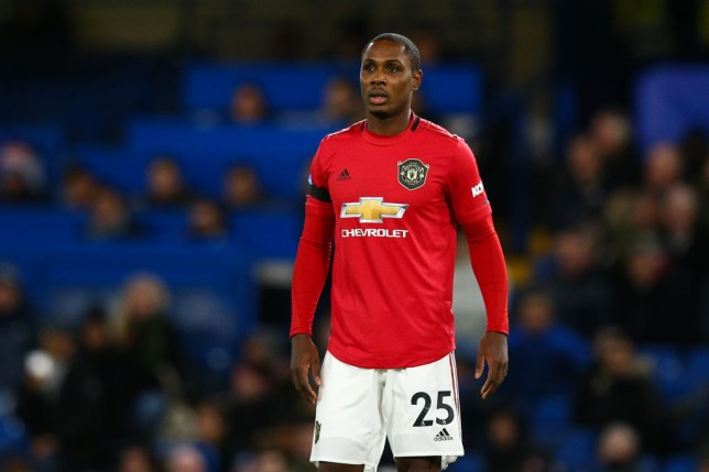 Odion Ighalo during Manchester United's Premier League victory over Chelsea