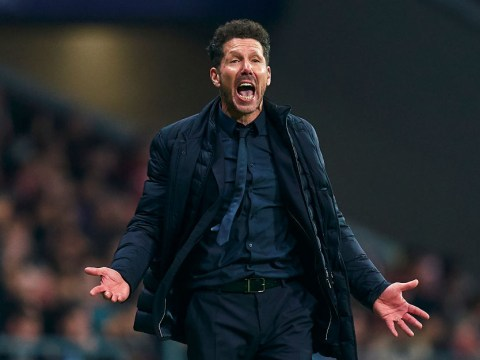 Diego Simeone says Atletico Madrid were beating Liverpool before the match kicked-off
