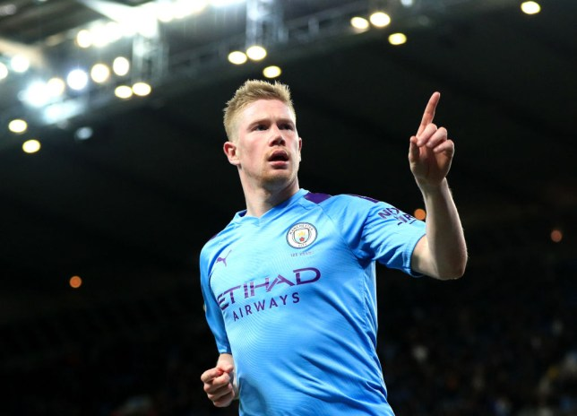 Kevin De Bruyne could miss the Manchester derby (Picture: Getty)