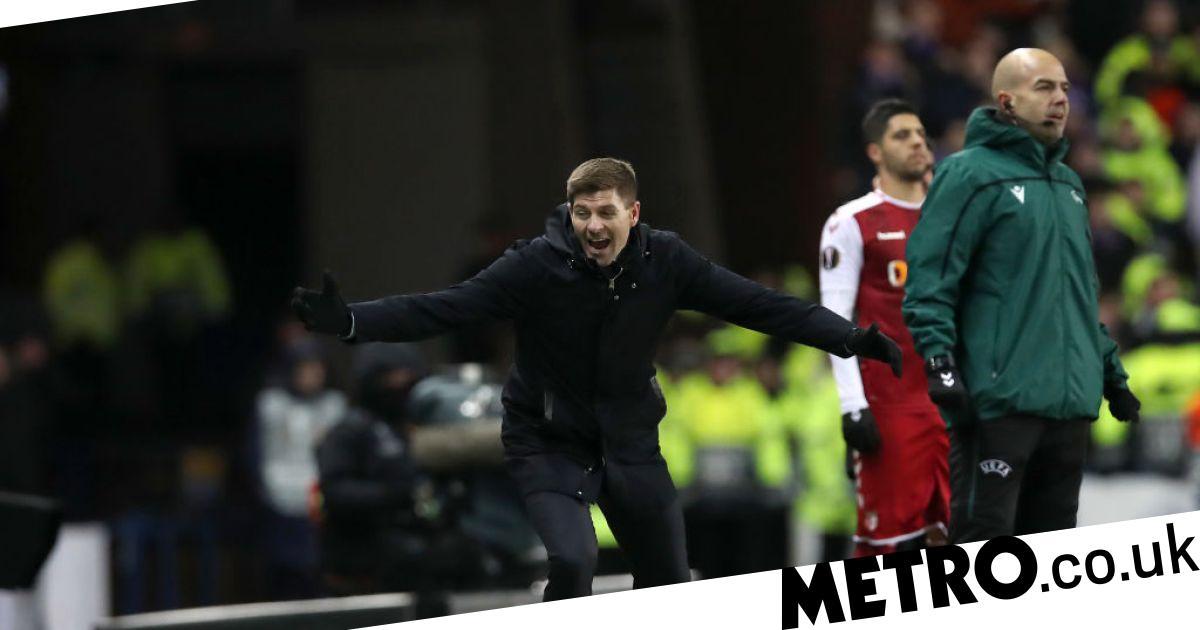Steven Gerrard goes beserk as Rangers complete famous Europa League comeback