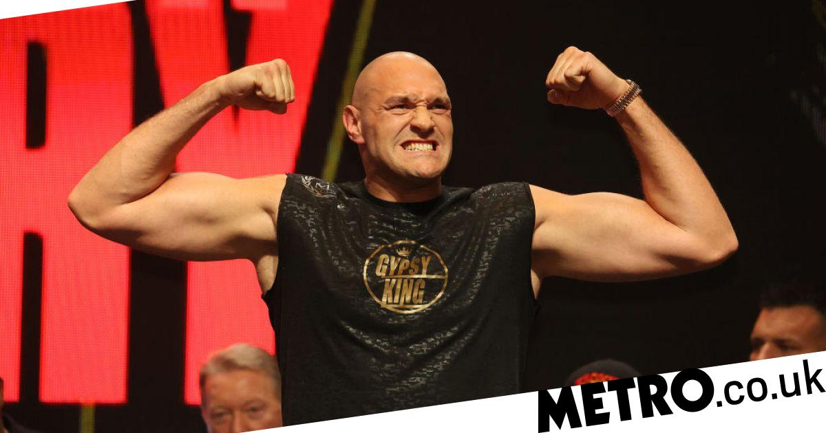 Tyson Fury and Deontay Wilder react to their enormous weigh-in results