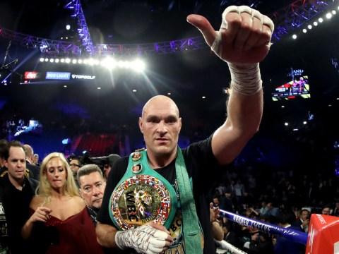 Eddie Hearn claims Tyson Fury is 'jealous' of Anthony Joshua