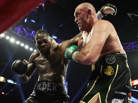 Deontay Wilder reveals new injury during Tyson Fury defeat
