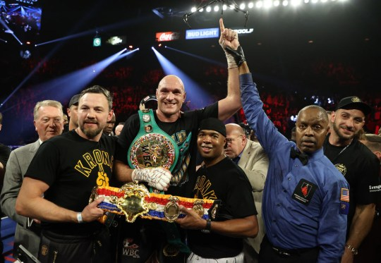Fury stopped Wilder in the seventh round to claim the WBC world heavyweight title