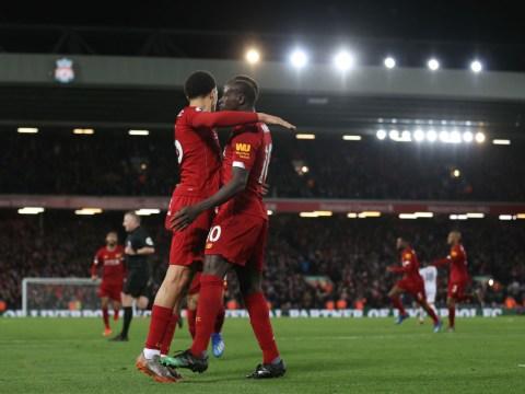 Liverpool 3-2 West Ham: Sadio Mane & Mohamed Salah keep Reds' unbeaten run alive with dramatic comeback