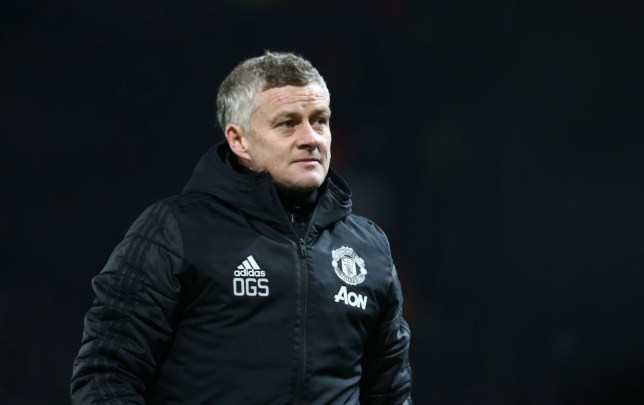 Manchester United manager Ole Gunnar Solskjaer looks on during their Europa League clash with Club Brugge