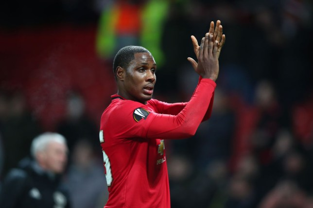 Odion Ighalo scored on his full debut for Manchester United