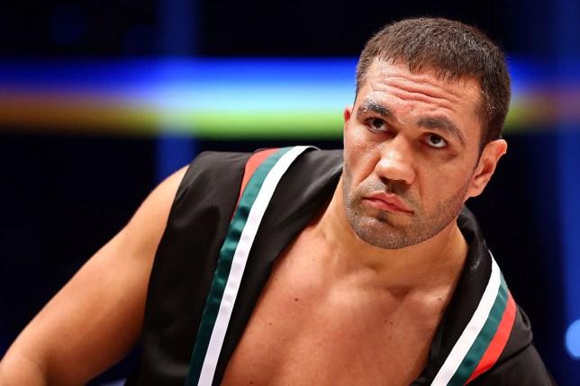 Bulgarian heavyweight boxer Kubrat Pulev
