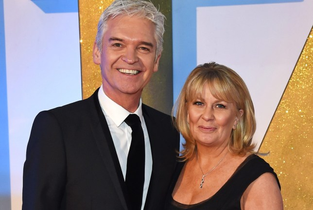 Phillip Schofield and Stephanie Lowe