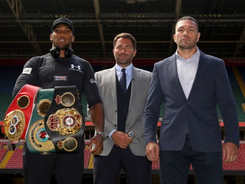 Eddie Hearn gives update on Anthony Joshua v Kubrat Pulev fight amid cancellation fears
