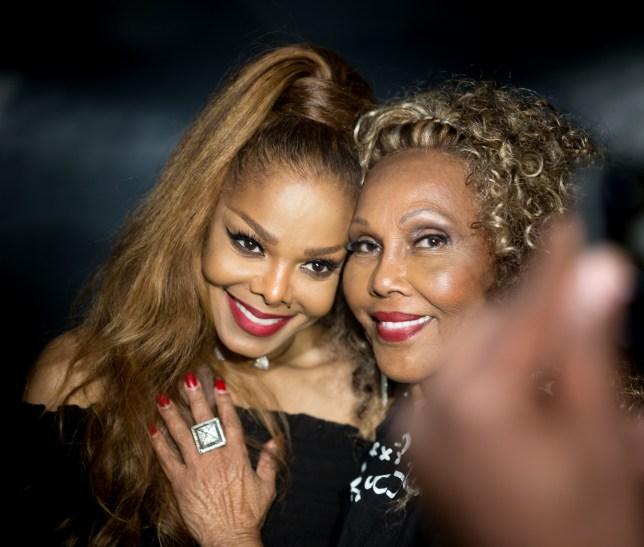 Janet Jackson and Ja'net Duboi
