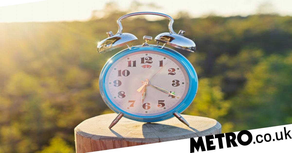 When do the clocks go forward this spring?