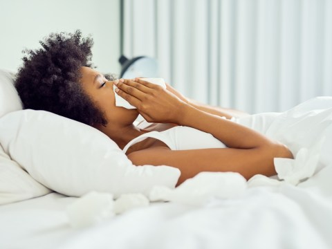How to get a good night's sleep when you have a blocked nose