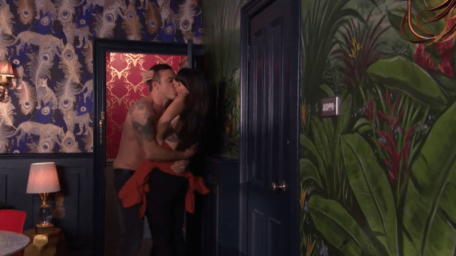 Mercedes and Warren have sex in Hollyoaks