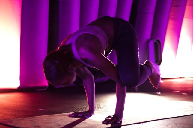 (Picture: Hotpod Yoga, Brixton/Sabrina Fearon-Melville)