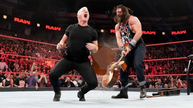 WWE Hall of Famer Jeff Jarrett and Elias clash on Raw