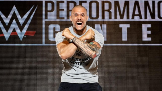 New WWE superstar Killer Kross is heading to the Performance Centre