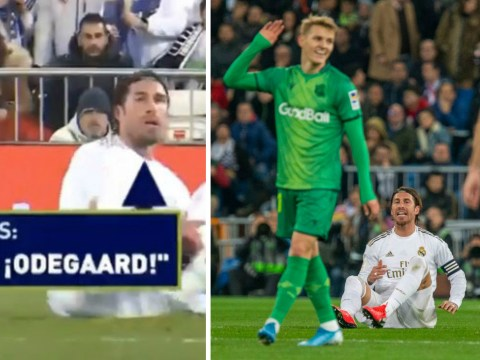'I sh*t on your wh*re mother!' – Sergio Ramos fumes at Real Madrid loanee Martin Odegaard
