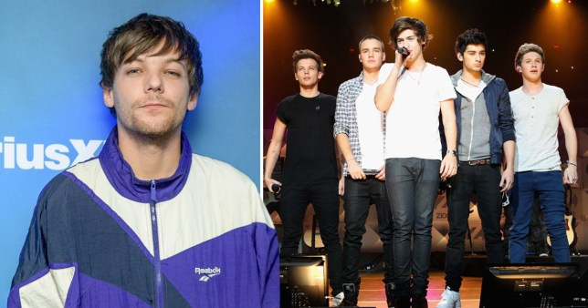 Louis Tomlinson and One Direction