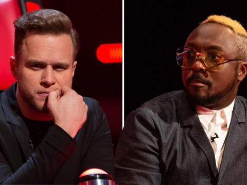 The Voice judges' clash as Olly Murs threatens to 'steal' Will.i.am's act in blind auditions