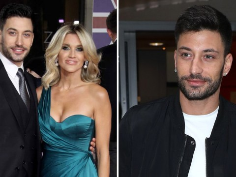 Giovanni Pernice says he 'doesn't like blondes' following split from Ashley Roberts