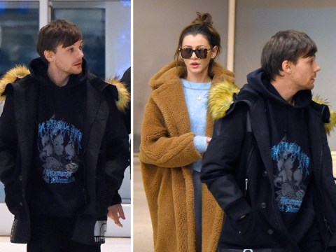 Louis Tomlinson and girlfriend Eleanor Calder play it cool in New York after he says he wants to marry her