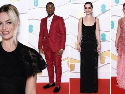 Baftas 2020: Emilia Clarke, Margot Robbie and John Boyega serve their best red carpet looks