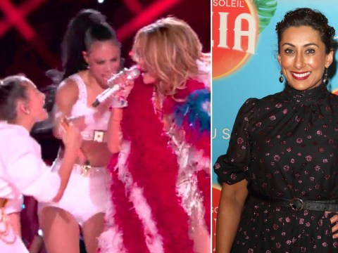 Loose Women's Saira Khan accuses Jennifer Lopez of 'nepotism' for singing with daughter at Super Bowl
